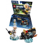 LEGO Dimensions 71230 Back to the Future Doc.Brown and traveling Train
